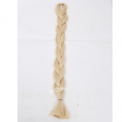 Blonde synthetic hair braid wholesale in Guangzhou factory