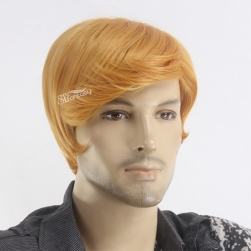 President Trump hot sale wig style for men synthetic male wigs wholesale USA